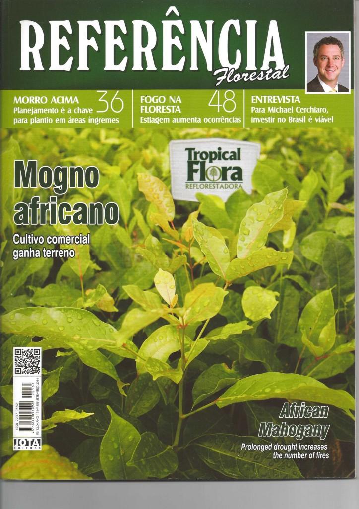 REVISTA REFERENCIA FLORESTAL - MOGNO AFRICANO-1